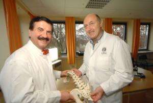 Prof. Dr. Gerhard A. Müller und Prof. Dr. Wolfgang Schultz. Fotos: Balzerborn-Kliniken