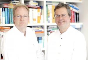 Dr. Ingo Niemetz und Dr. Stefan Pollmächer. Foto: Mario Zgoll