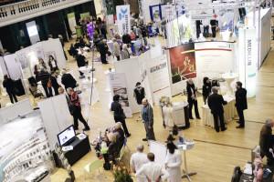 Willkommene Gelegenheit, sich rund um das Thema Gesundheit zu informieren: die Gesundheitstage Nordhessen im Kongress Palais Kassel. Dort präsentieren sich diesmal mehr als 120 Aussteller. Foto: Mario Zgoll