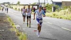 Philipp Mock beim Ironman auf Hawaii. Foto: Harald Kohlhaas