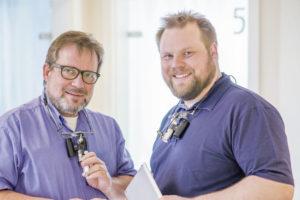 Stephanus Schöler (l.) und Dr. Christian Schöler (r.). Foto: lopri communications/Thorsten Eschstruth