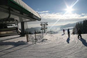 Die Bergstation Ritzhagen im Upland bei Willingen. Foto: © Skigebiet Willingen