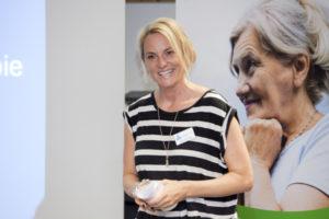 Okka Gundel: Journalistin und AFI-Botschafterin. Foto: Wolf R. Ussler/Alzheimer Forschung Initiative e.V.