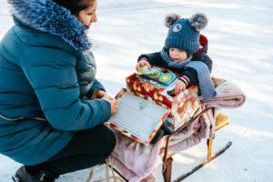 Das Bild entstand nach einer Weihnachtsfeier in Moldau. Foto: Samaritan's Purse e.V./David Vogt